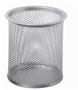 Immagine di Bicchiere portapenne in alluminio grigio