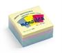 Immagine di Biglietto adesivo 75x75 cubo 400 fogli colori assortiti tenui