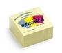 Immagine di Biglietto adesivo 75x75 cubo 400 fogli giallo