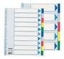 Immagine di Divisore in PPL 10 tasti colorati A4 MAX