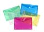 Immagine di Cartellina con bottone A5 conf. 5 pz. colori assortiti