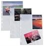 Immagine di Busta a foratura universale porta foto 10x15 ATLA F fondo bianco conf. 10 pz.