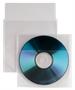 Immagine di Busta porta CD/DVD in PPL con patella di chiusura 12,5x12 cf. 25 pz.