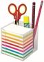 Immagine di Blocco cubotto colorato 750 fg con contenitore e p/penne