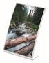Immagine di Portafoto verticale in acrilico curvo magnetico A6