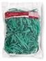 Immagine di Elastici in gomma a fettuccia verde diametro 100 da 1 Kg