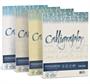 Immagine di Carta Calligraphy effetto pergamena 190 Gr 50 fogli bianco
