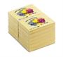 Immagine di Biglietto adesivo 51x75 giallo 100 fogli conf. 12 pezzi