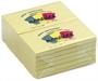 Immagine di Biglietto adesivo 127x75 giallo 100 fogli conf. 12 pezzi