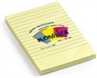 Immagine di Biglietto adesivo 102x150 giallo 1 rigo 100 fogli