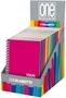 Immagine di Quaderno mini spirale One Color 12x17 copertina in PPL 1Rigo conf. 14 pz.