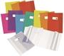 Immagine di Coprimaxi Cristallo14 con porta etichetta conf. 100 pz. colori assortiti