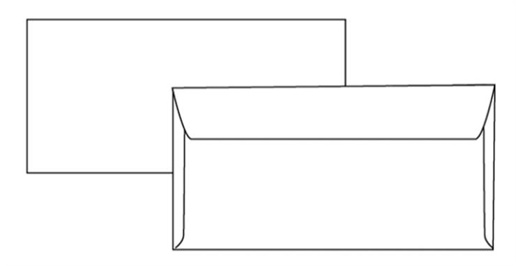 Zetaufficio shop busta bianca 11x23 autoadesiva 90 gr - Buste 11x23 senza finestra ...