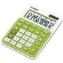 Immagine di Calcolatrice da tavolo 12 cifre Casio MS-20NC verde