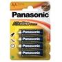 Immagine di Batterie Panasonic stilo AA Alkaline Power blister 4 pz. Conf. 12 pz