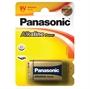Immagine di Batteria Panasonic transistor 9V Alkaline Power blister 1 pz.