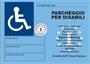 Immagine di Pouches 112x154 mm per contrassegno disabili 100 pz.