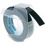 Immagine di Nastro 3D in plastica nero per Dymo Omega blister 3 pz.