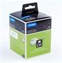 Immagine di Etichette permanenti Dymo LabelWriter 28x89 mm - 2 rotoli da 130 etichette