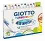 Immagine di Colori Giotto Turbo Giant da 12 pz.