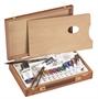 Immagine di Valigetta in legno per tempere modello BASIC