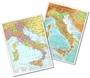 Immagine di Cartina fisica/politica Italia 28x37 cm conf. 25 pz.