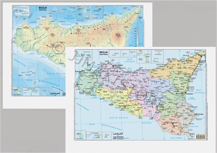 Immagini Cartina Fisica Sicilia.Biancheria Da Letto Giglio Cavo Sicilia Fisica Cartina Amazon Agingtheafricanlion Org