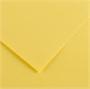 Immagine di Cartoncino bristol Vivaldi 100x70 conf. 10 fogli giallo paglia