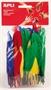 Immagine di Gomma Eva piume d'oca conf 100 pz. colori assortiti