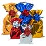 Immagine di Busta metallizzata cm 10x20 conf. 50 pz. rosso