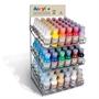 Immagine di Colori acrilici Primo flacone 125 ml espositore 108 pz.