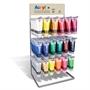 Immagine di Colori acrilici Primo tubo 75 ml espositore 108 pz.