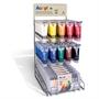 Immagine di Colori acrilici Primo epositore 60 tubi 75 ml + 12 scatole
