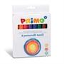 Immagine di Pennarelli per tessuti Primo astuccio da 8 colori conf. 6 astucci
