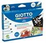 Immagine di Pennarelli per tessuti Giotto Decor Materials da 6 pz.