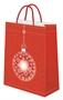 """Immagine di Shopper Natale """"Sfera Diamante"""" 26x14x34 conf. 6 pz."""