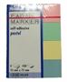 Immagine di Segnapagina in carta f.to mm 25x75 - 4 colori pastello