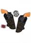 Immagine di Cinturone cow-boy cm 80 con 2 pistole + stella distintivo
