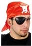 Immagine di Bandana pirata in tessuto con benda