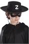 Immagine di Cappello bimbo cavaliere nero in feltro