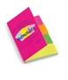 Immagine di Segnapagina in carta Index 20x50mm 4 colori fluo conf. 12 pz.
