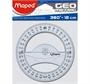 """Immagine di Goniometro 360° serie """"Geo"""" conf. 20 pz."""