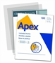 Immagine di Pouches Apex f.to A4 125 micron conf. 100 pz.