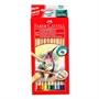 Immagine di Colori a matita Faber fusto in legno da 12 conf. 12 pz