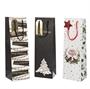 Immagine di Shopper Merry Christmas porta bottiglia Conf. 12 Pz