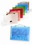 Immagine di Cartella Polionda In PP Semitrsparente Color