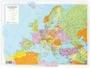 Immagine di Carta Geografica Da Banco 42X29,7 CM Europa Politica Fisica