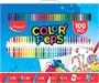 Immagine di Set Colore 100 PZ MAPED